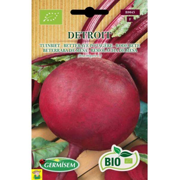 79045 Rode Biet Detroit Bio - Betterave de jardin rouge Detroit Bio