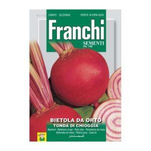 80611 Rode Biet Chioggia - Betterave de jardin rouge Chioggia