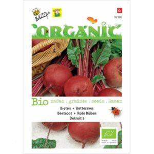 92105 Betterave de jardin rouge Detroit 2 Bio