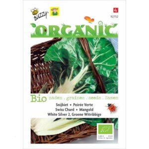 92752 Snijbiet Groene met Witte Ribben Bio - Poirée Verte à Cardes Blanches Bio