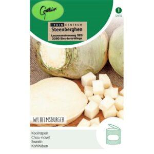 12412 Koolraap Wilhelmsburger - Chou-navet Jaune à collet vert (Wilhelmsburg)