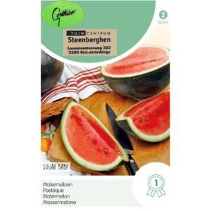 12434 Watermeloen Sugar Baby - Pastèque Sugar Baby