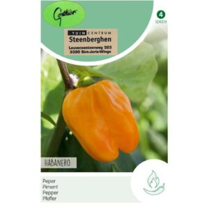 124519 Peper Habanero oranje - Piment Habanero orange