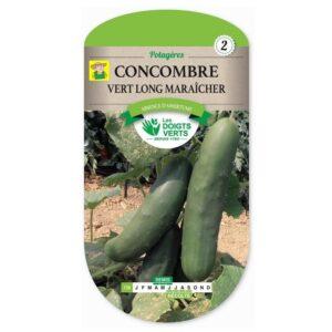 139 Komkommer - Concombre Vert Long Maraicher
