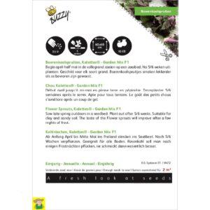 2258 Kalettes Garden Mix F1 - Chou Kalletes Garden Mix F1
