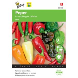 2455 Peper Mix - Piments en mélange