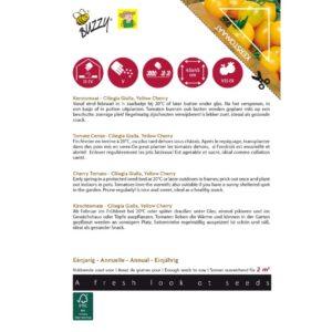 28455 Tomaat Yellow Cherry, Gele Kers - Tomaat Cerise Jaune