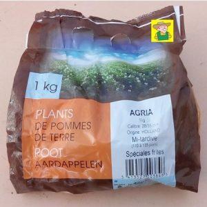97686 Aardappel Agria - Pomme de terre Agria 1kg