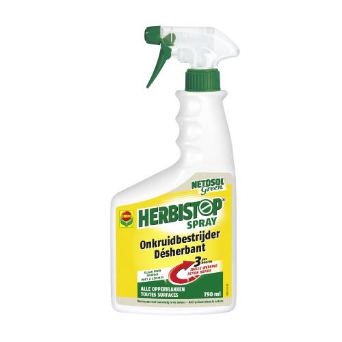 10499 Herbistop Spray Onkruidbestrijder Alle oppervlakken - Désherbant Toutes Surfaces 750ml COMPO