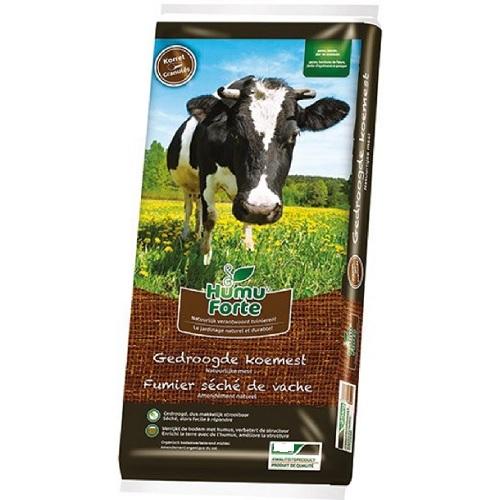 11097 Gedroogde Koemest 10kg HumuForte - Fumier séché de vache 10kg HumuForte