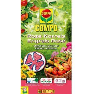 11185 Meststof Roze Korrel - Engrais Rose COMPO 5kg
