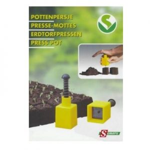 11240 Kluitenpers plastiek - Presse-motte plastique 1x(4x4cm)