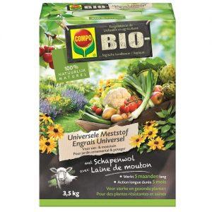 11265 Meststof Universeel Bio 3,5kg COMPO - Engrais Universel Bio 3,5kg COMPO