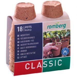 13307 Turfpotjes - Pots de tourbe
