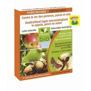 13463 Feromonen tegen wormstekigheid in appels, peren en noten - Phéromones contre le ver des pommes, poires et noix