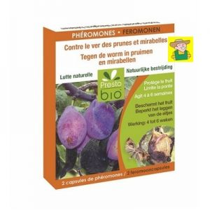 13464 Feromonen tegen de worm in pruimen en mirabellen - Phéromones contre le ver des prunes et mirabelles