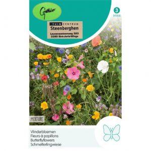 14908 Vlinderbloemen - Fleurs à papillons