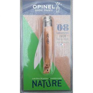 20546 Opinel Tuinmes N°8 Inox - Couteau de jardin N°8 Inox