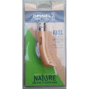 20557 Snoei- en entmes Opinel N°8 Inox - Serpette, greffoir Opinel N°8 Inox