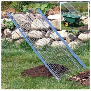 Zeef voor grond en compost - Tamis pour terreau et compost