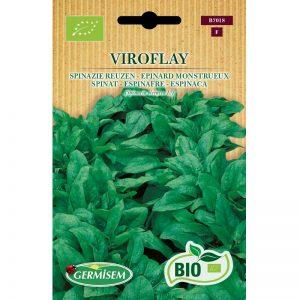 77018 Spinazie Reuzen van Viroflay Bio - Epinard Monstrueux de Viroflay bio